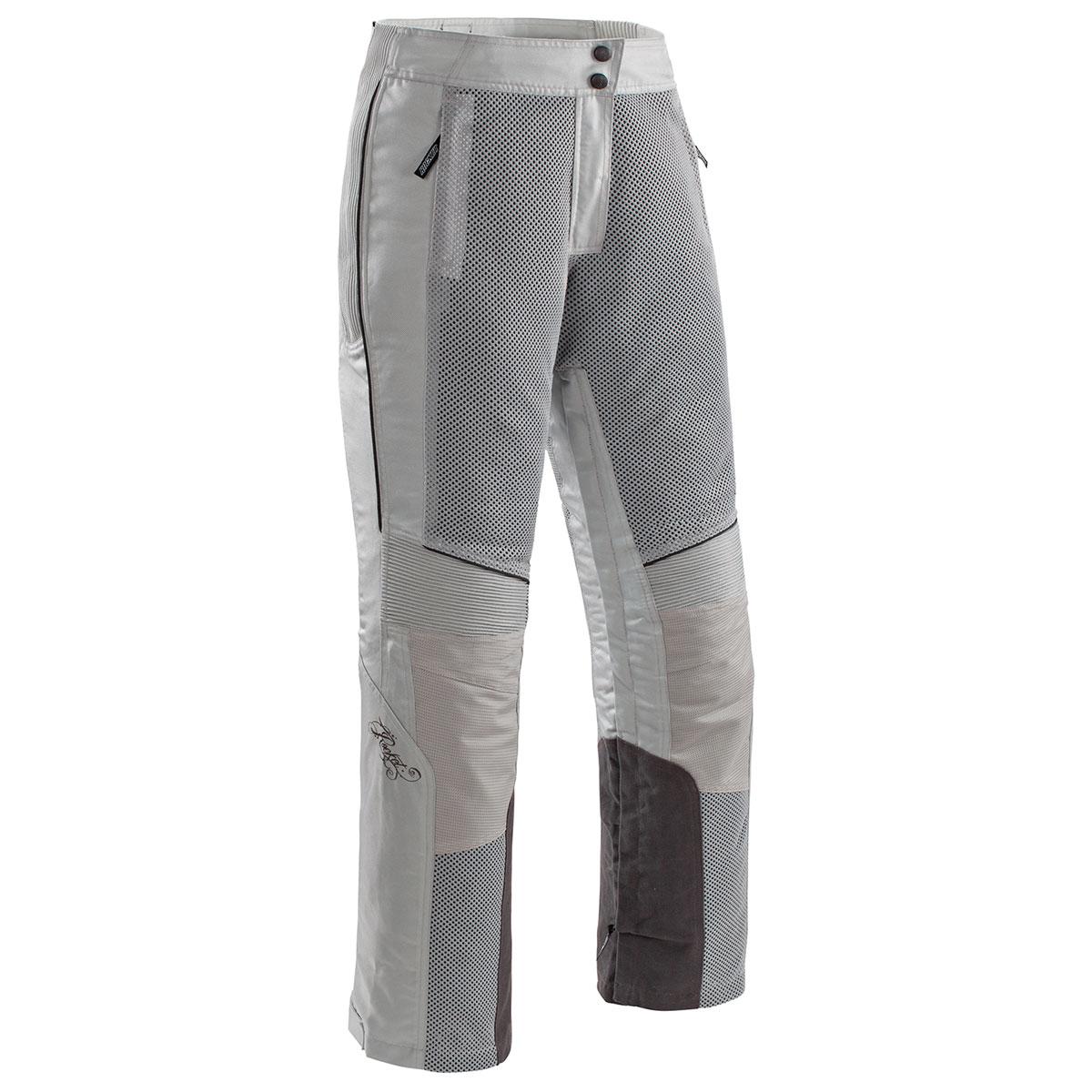 Joe Rocket Women's Cleo Elite Mesh Silver Pants