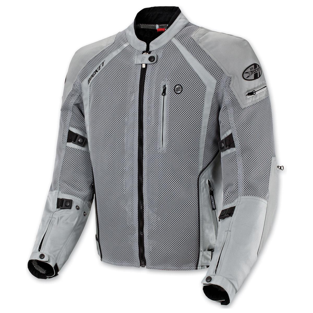 Joe Rocket Men's Phoenix Ion Silver Jacket