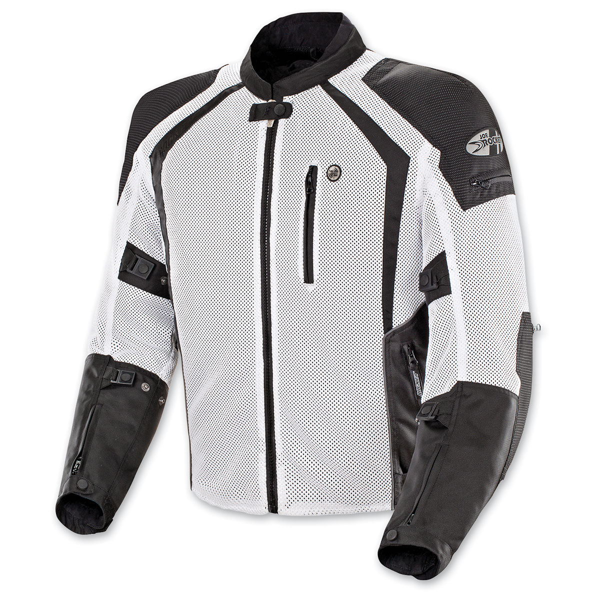 Joe Rocket Men's Phoenix Ion White Jacket