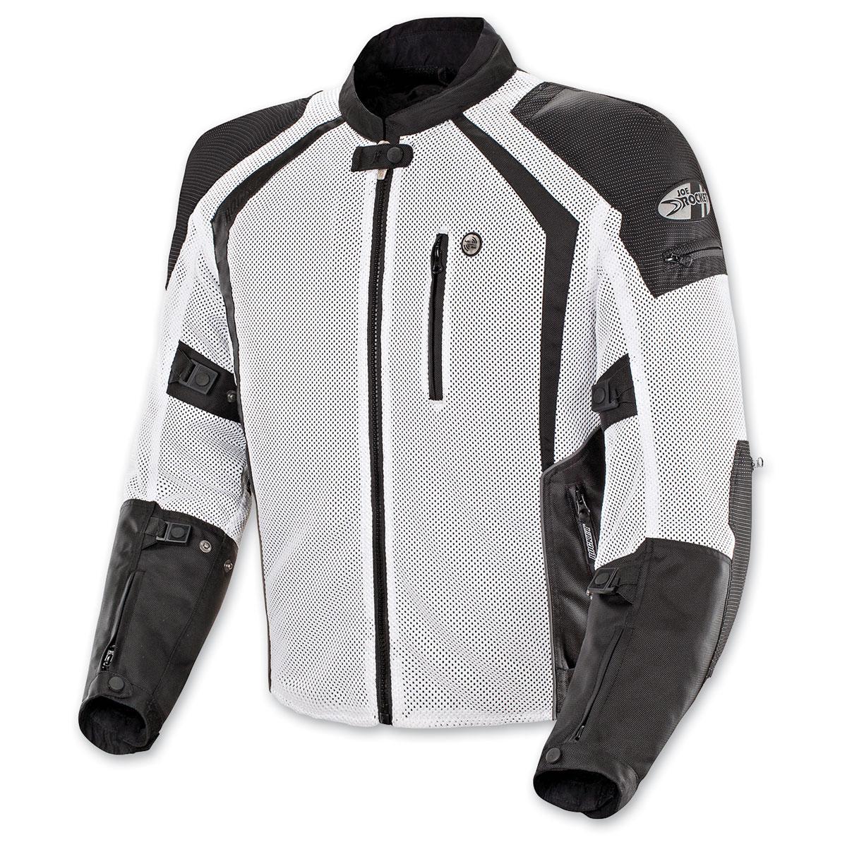 Joe Rocket Men's Phoenix Ion White Jacket