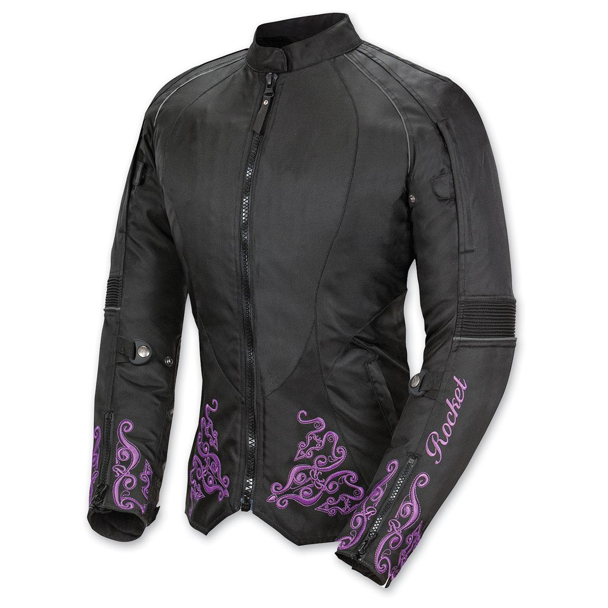 Joe Rocket Women's Heartbreaker 3.0 Purple/Black Jacket