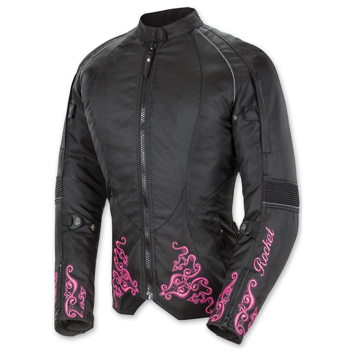 Joe Rocket Women's Heartbreaker 3.0 Pink/Black Jacket