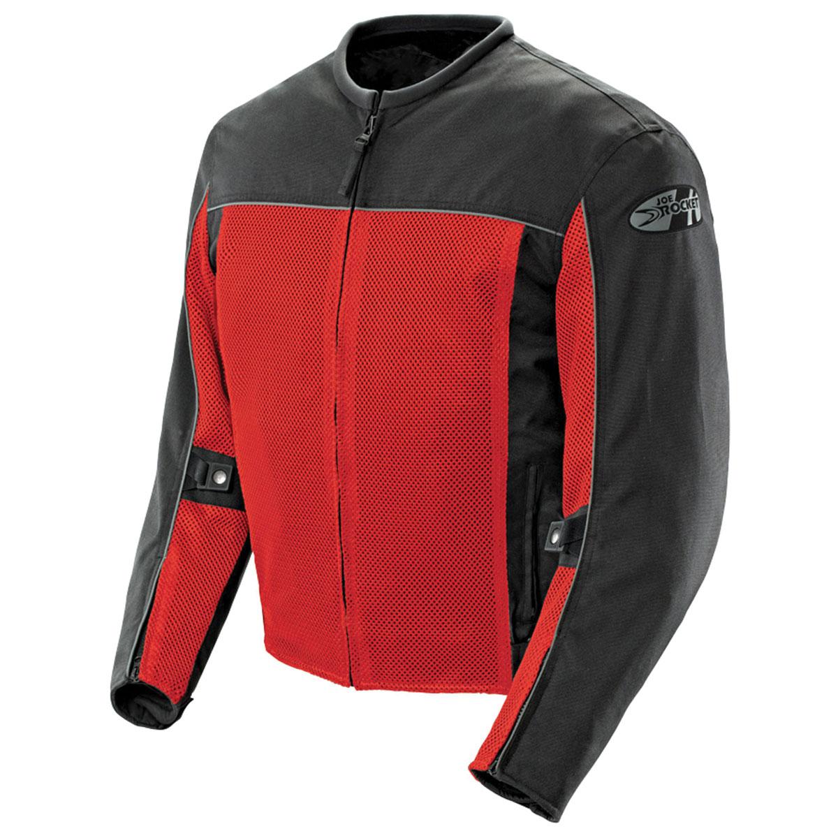 Joe Rocket Men's Velocity Mesh Red Jacket