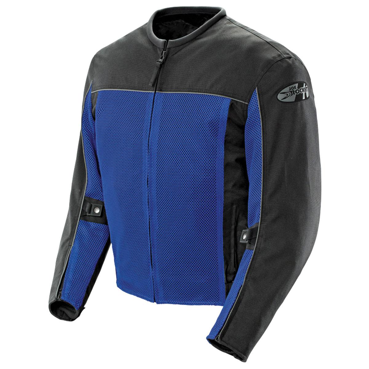 Joe Rocket Men's Velocity Mesh Blue Jacket