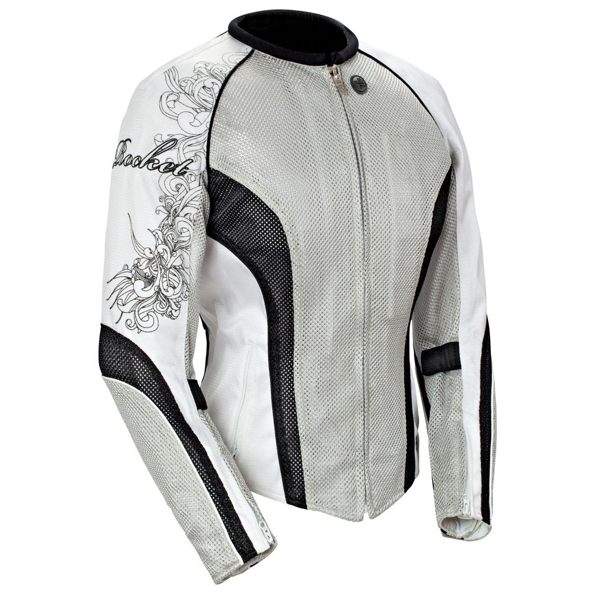 Joe Rocket Women's Cleo 2.2 Silver Jacket