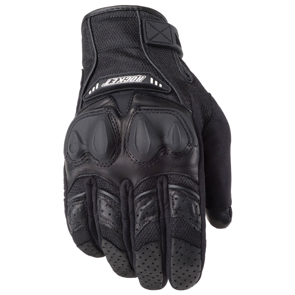 Joe Rocket Men's Phoenix 4.0 Black Gloves