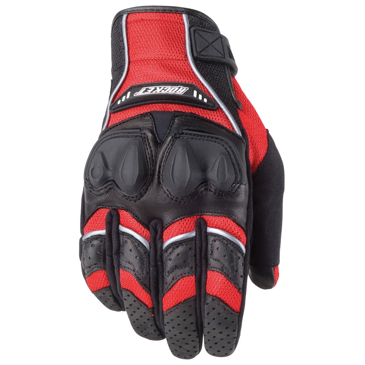 Joe Rocket Men's Phoenix 4.0 Red/Black Gloves