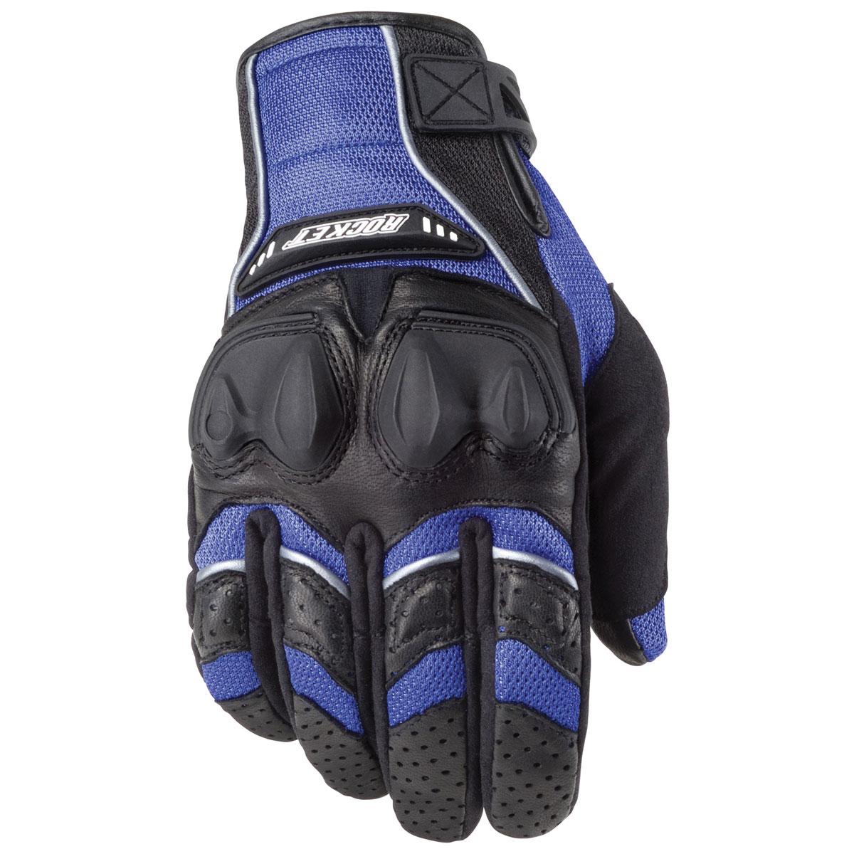 Joe Rocket Men's Phoenix 4.0 Blue/Black Gloves