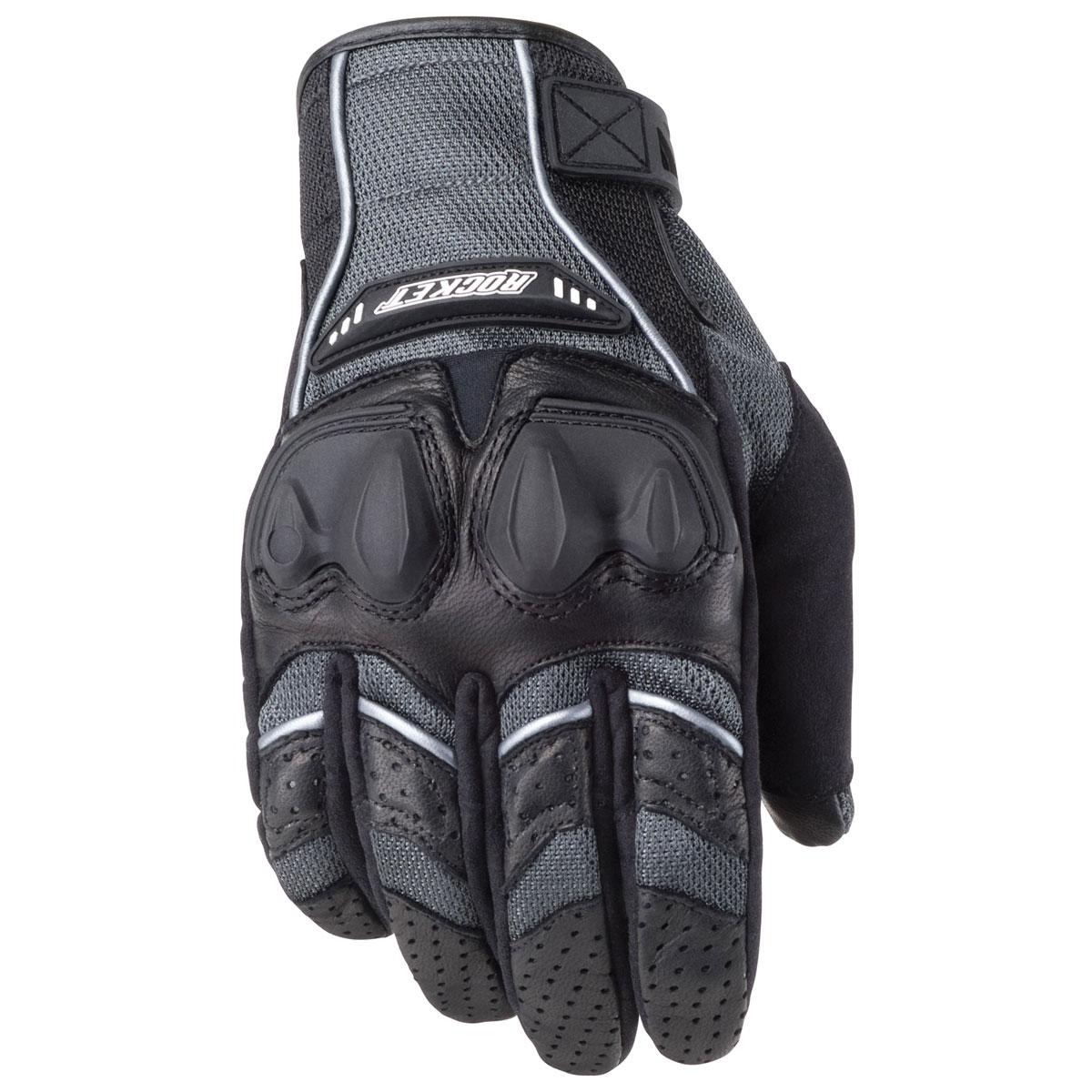 Joe Rocket Men's Phoenix 4.0 Gray/Black Gloves