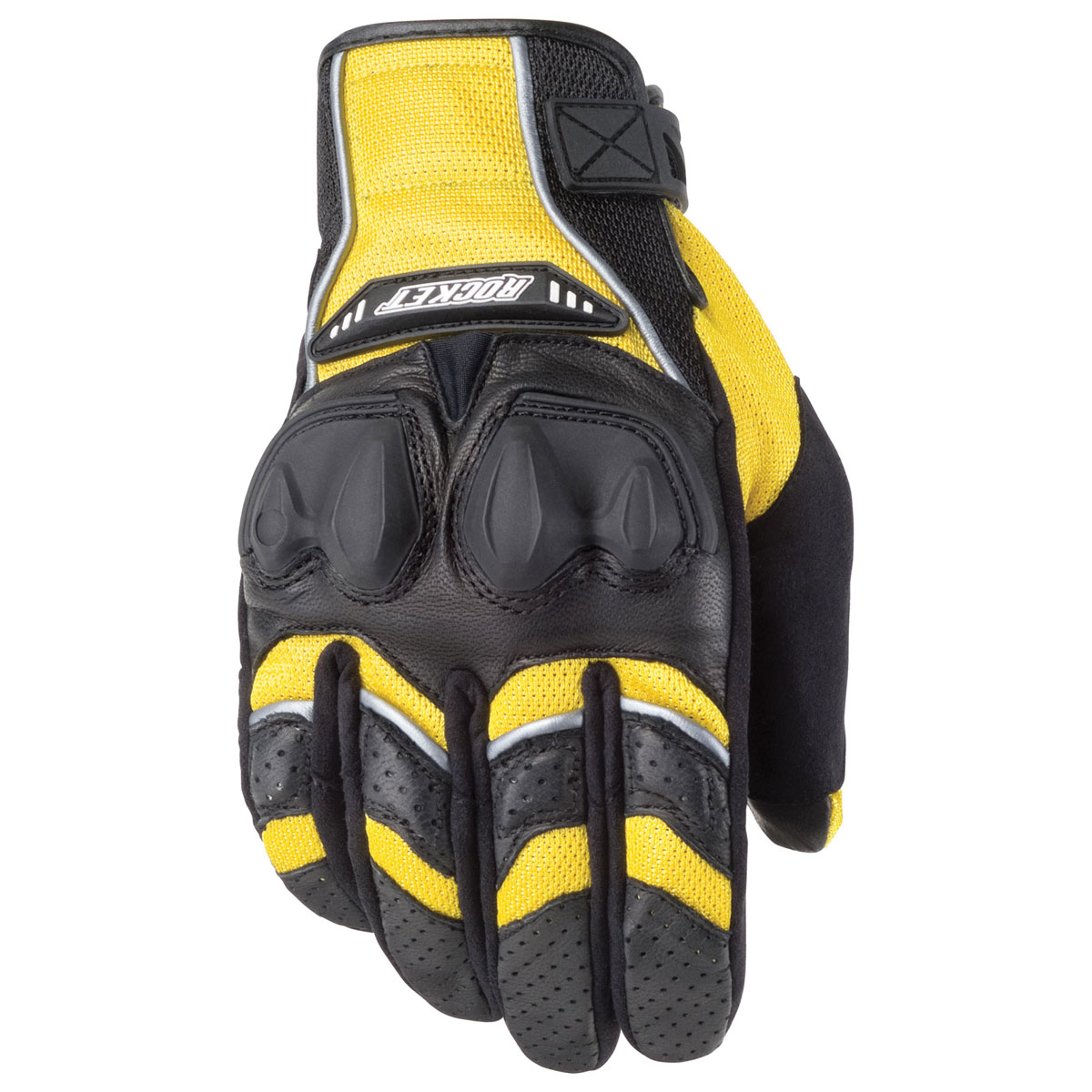 Joe Rocket Men's Phoenix 4.0 Yellow/Black Gloves