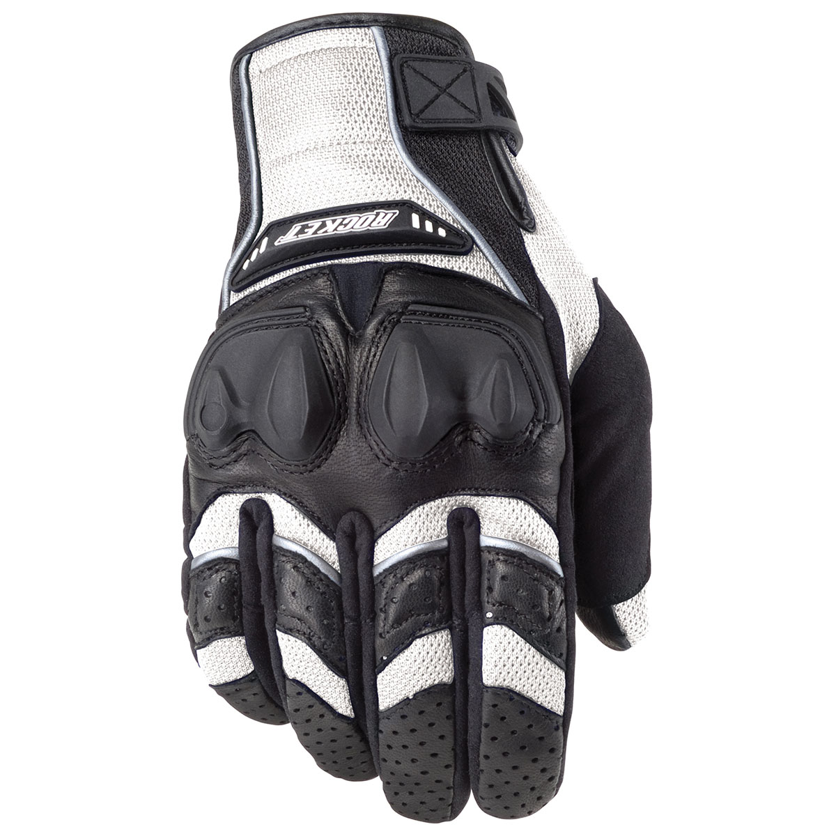 Joe Rocket Men's Phoenix 4.0 White/Black Gloves