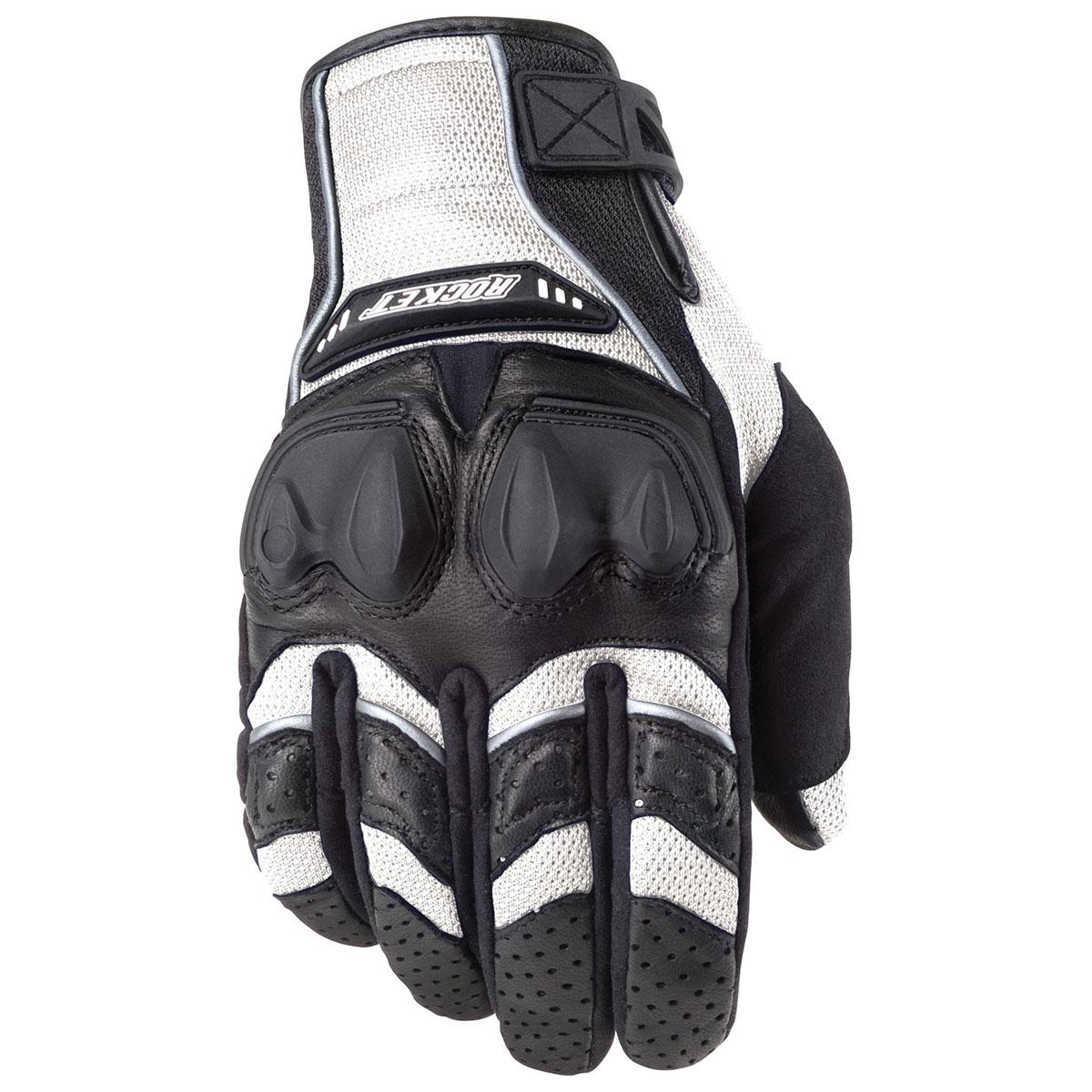 Joe Rocket Men's Phoenix 4.0 White/Black Gloves