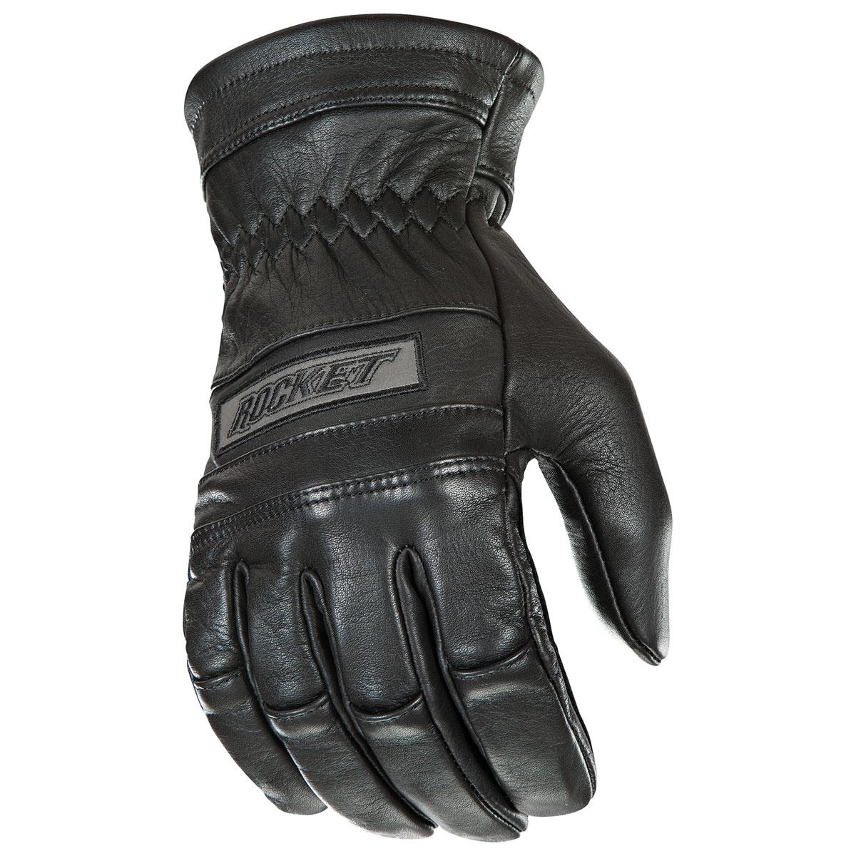 Joe Rocket Men's Thick Fit Classic Black Gloves