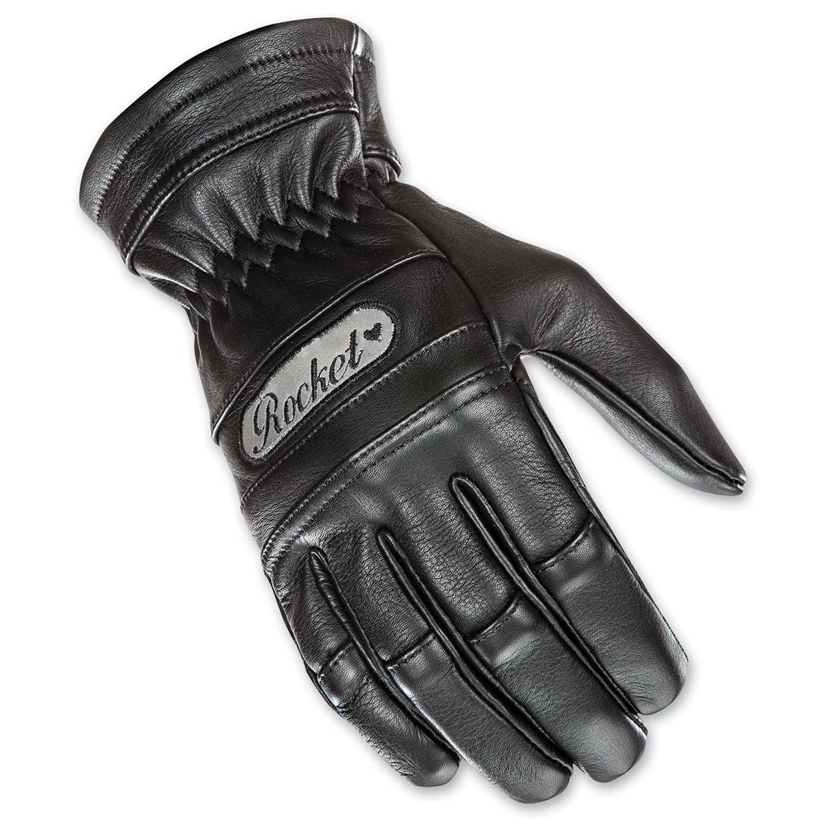 Joe Rocket Women's Classic Black Gloves