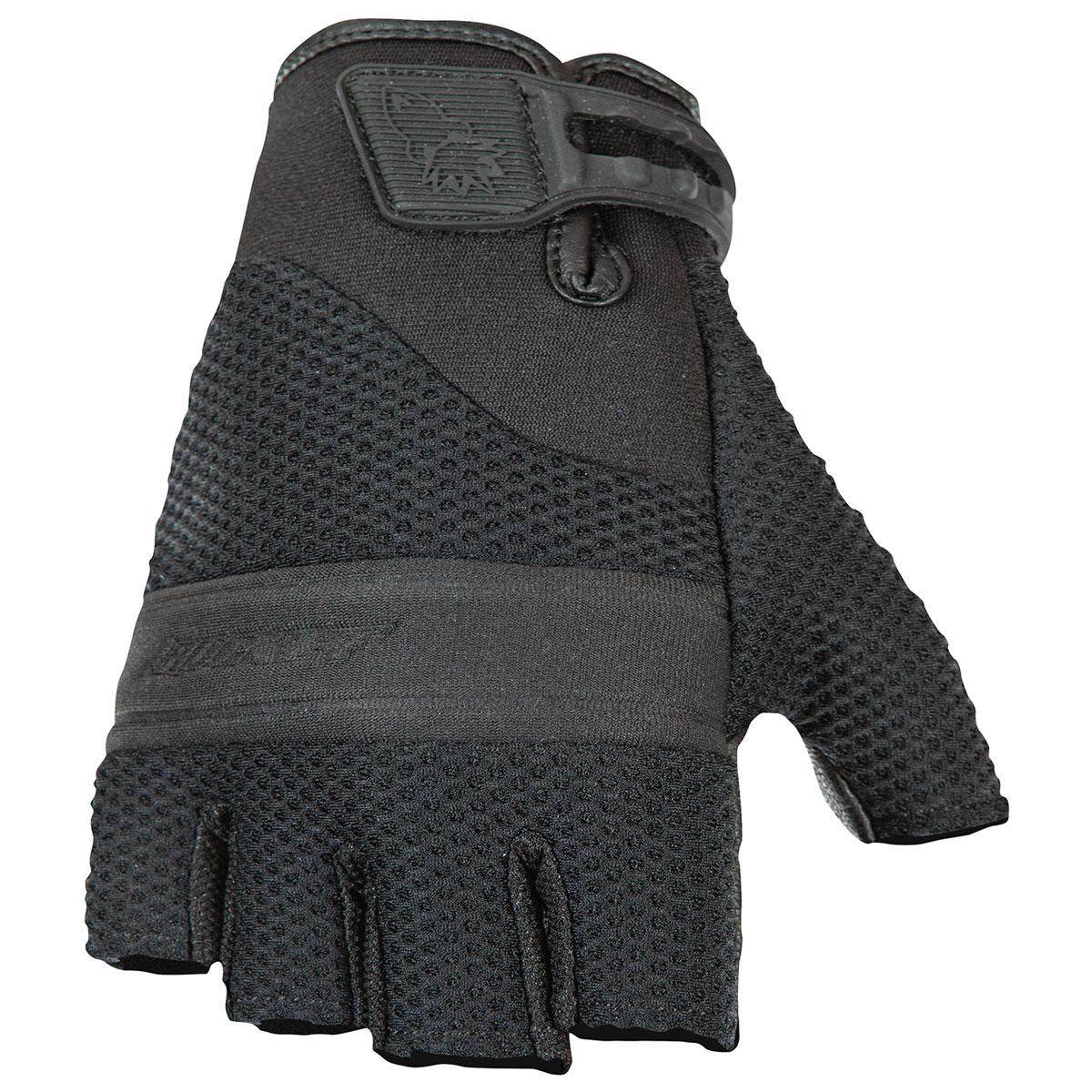 Joe Rocket Men's Vento Fingerless Black Gloves