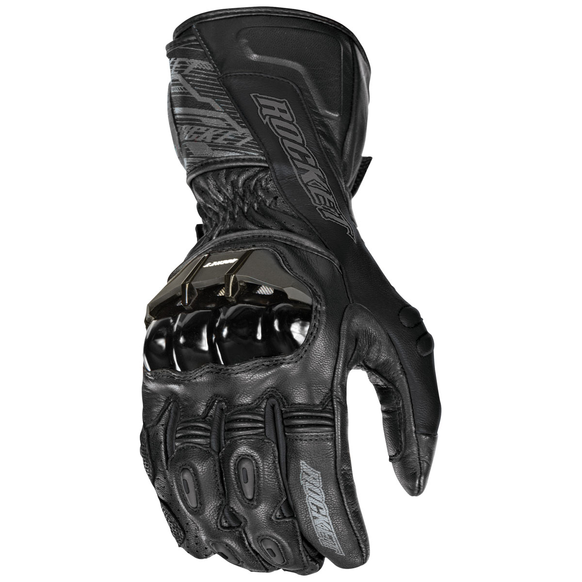 Joe Rocket Men's Flexium TX Black Gloves