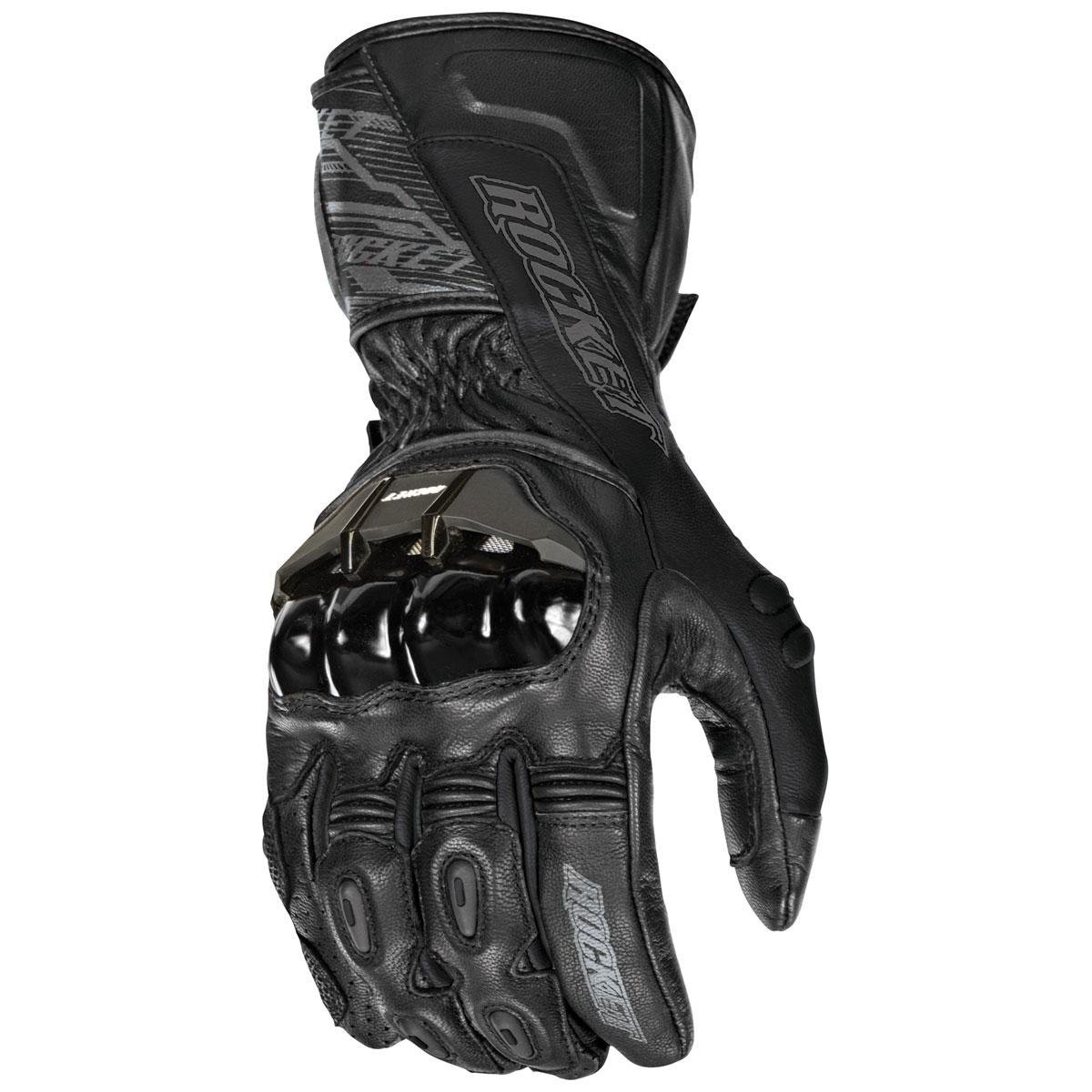 Joe Rocket Men's Flexium TX Black Gloves