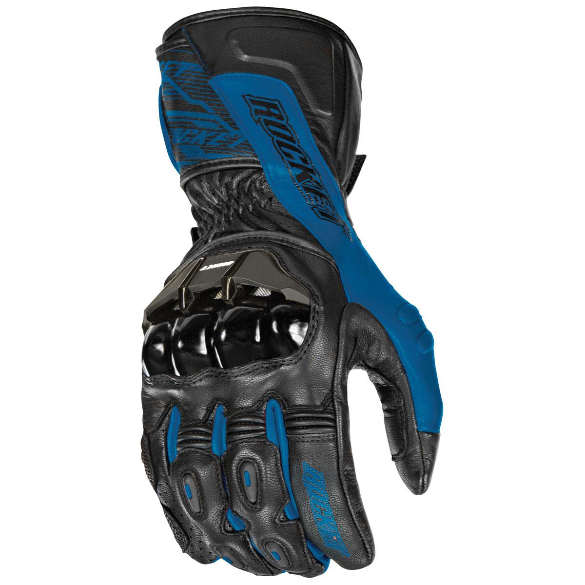 Joe Rocket Men's Flexium TX Blue Gloves