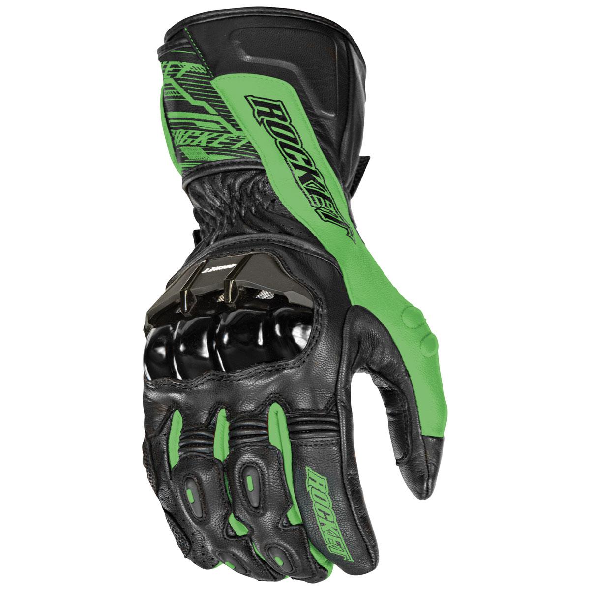 Joe Rocket Men's Flexium TX Green Gloves
