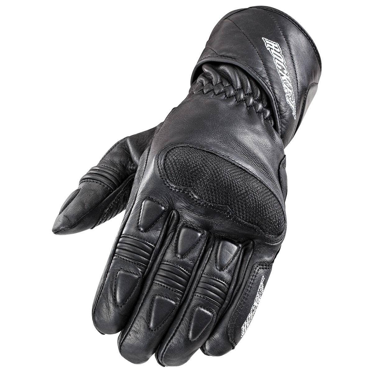 Joe Rocket Men's Pro Street Black Gloves