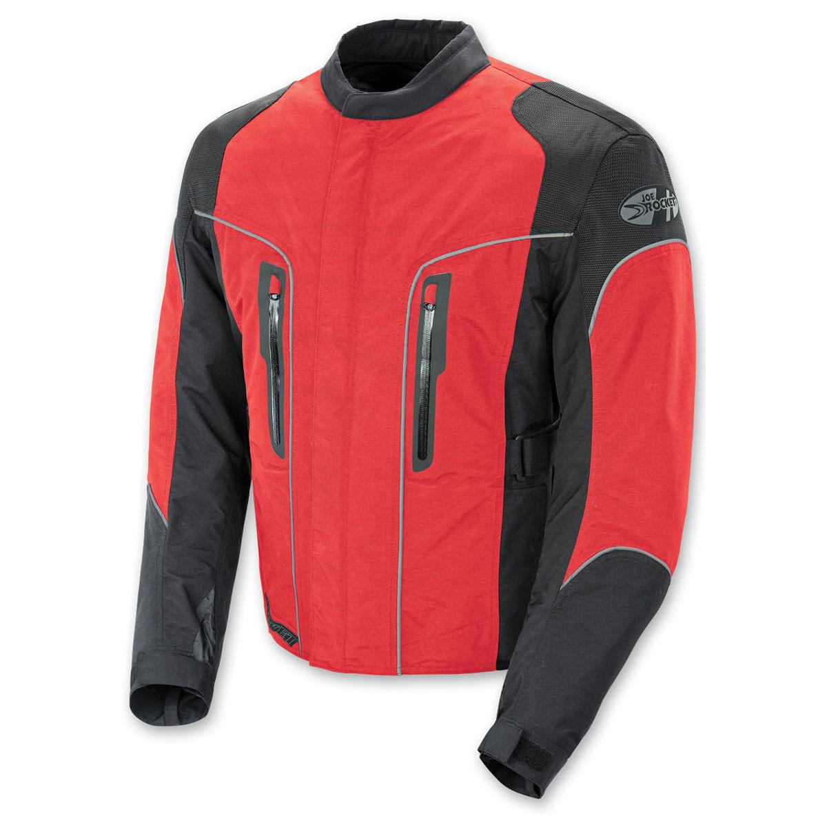 Joe Rocket Men's Alter Ego 3.0 Mesh Red Jacket