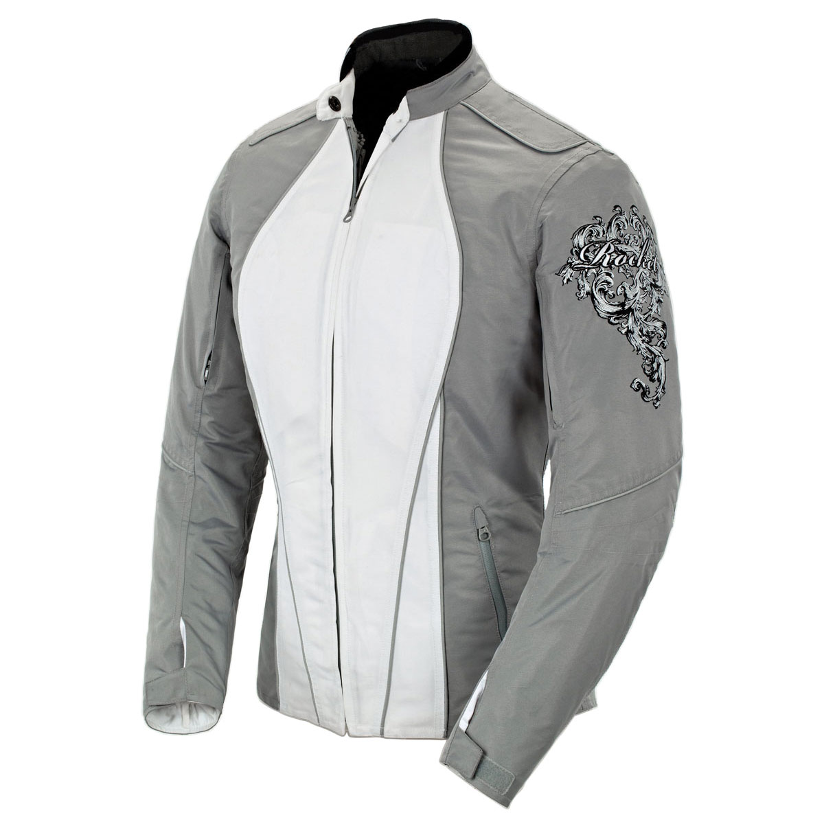 Joe Rocket Women's Alter Ego 3.0 Mesh Silver Jacket