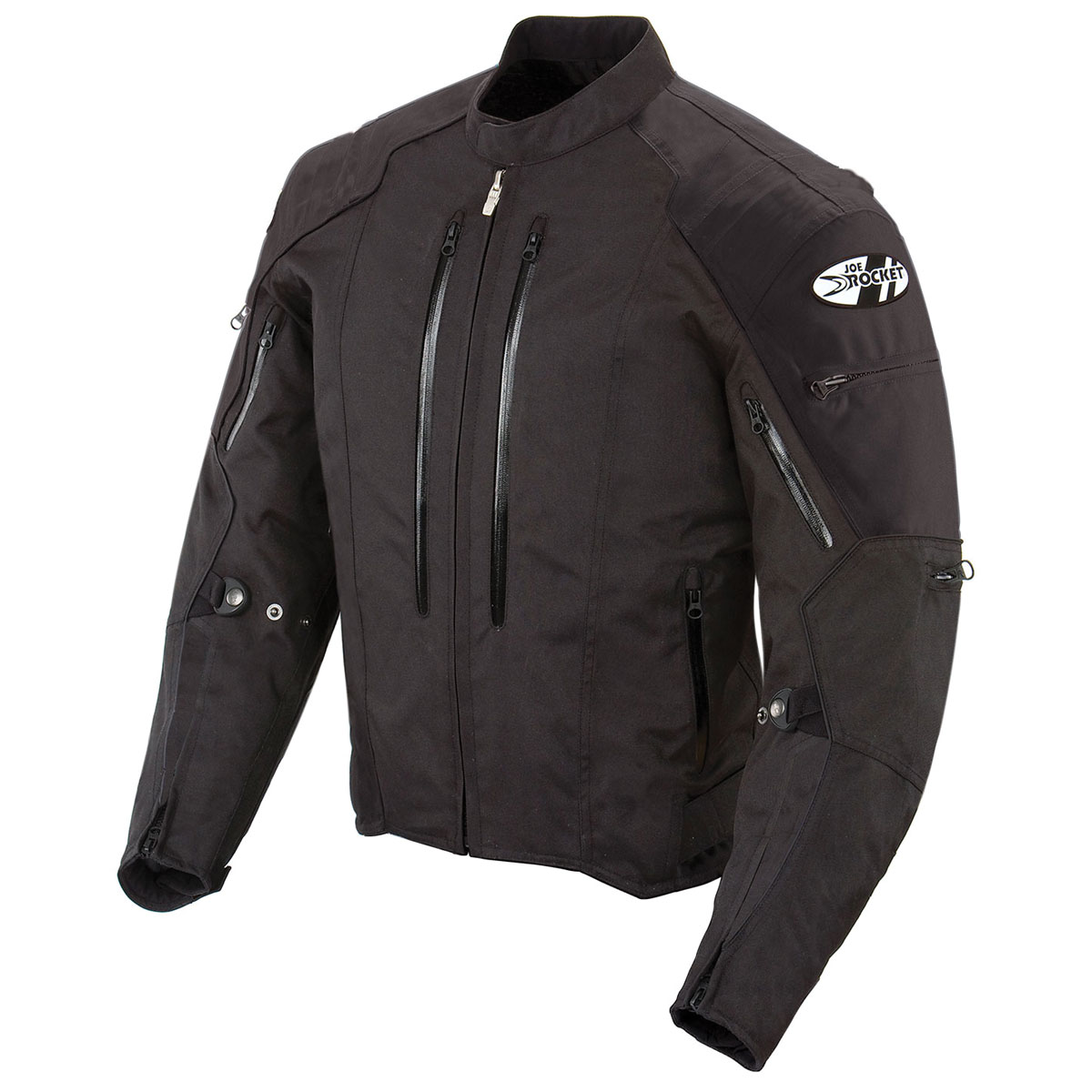 Joe Rocket Men's Atomic 4.0 Waterproof Black Jacket
