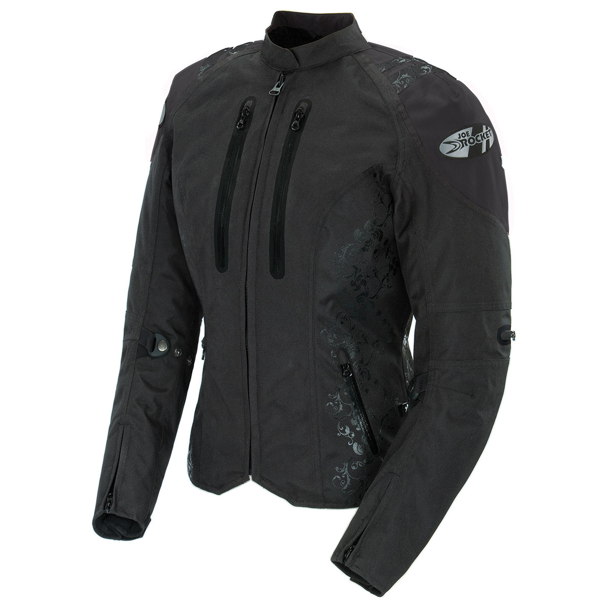 Joe Rocket Women's Atomic 4.0 Waterproof Black Jacket