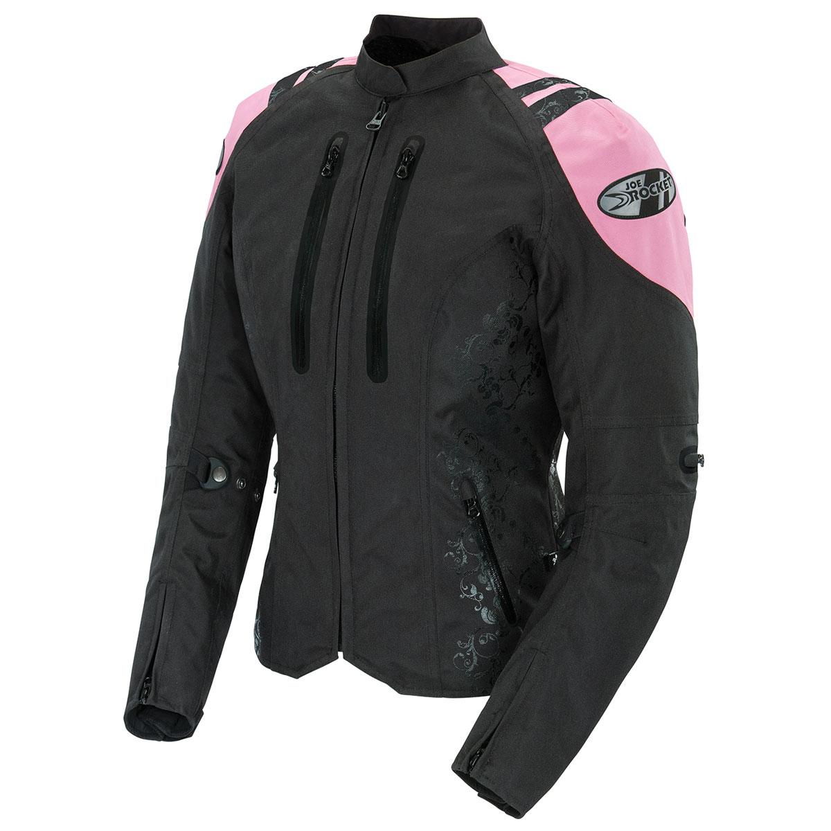 Joe Rocket Women's Atomic 4.0 Waterproof Pink/Black Jacket
