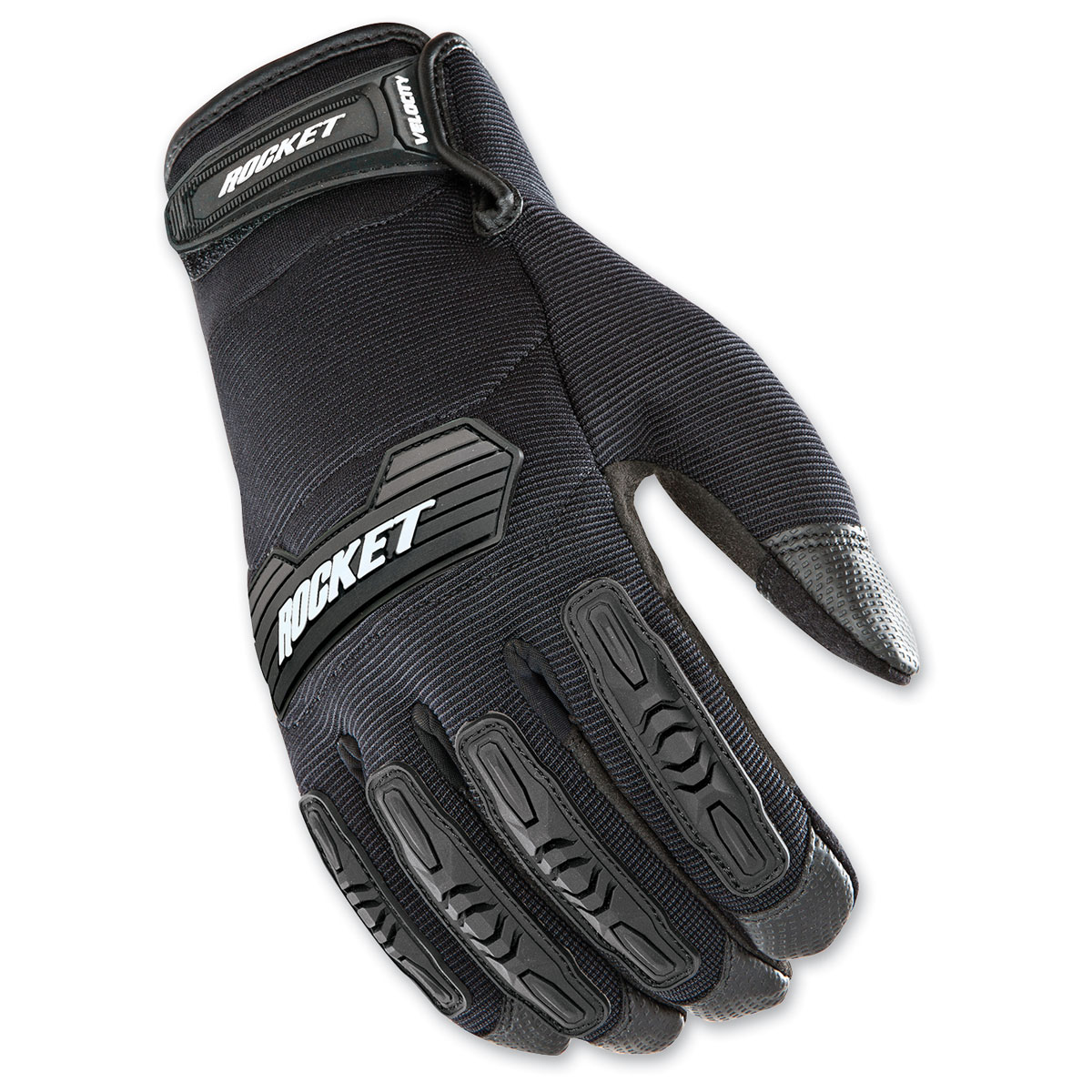 Joe Rocket Men's Velocity 2.0 Black Gloves