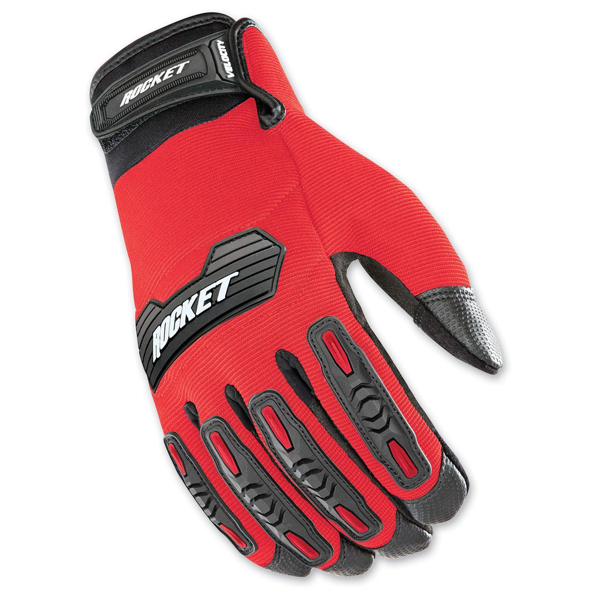 Joe Rocket Men's Velocity 2.0 Red/Black Gloves