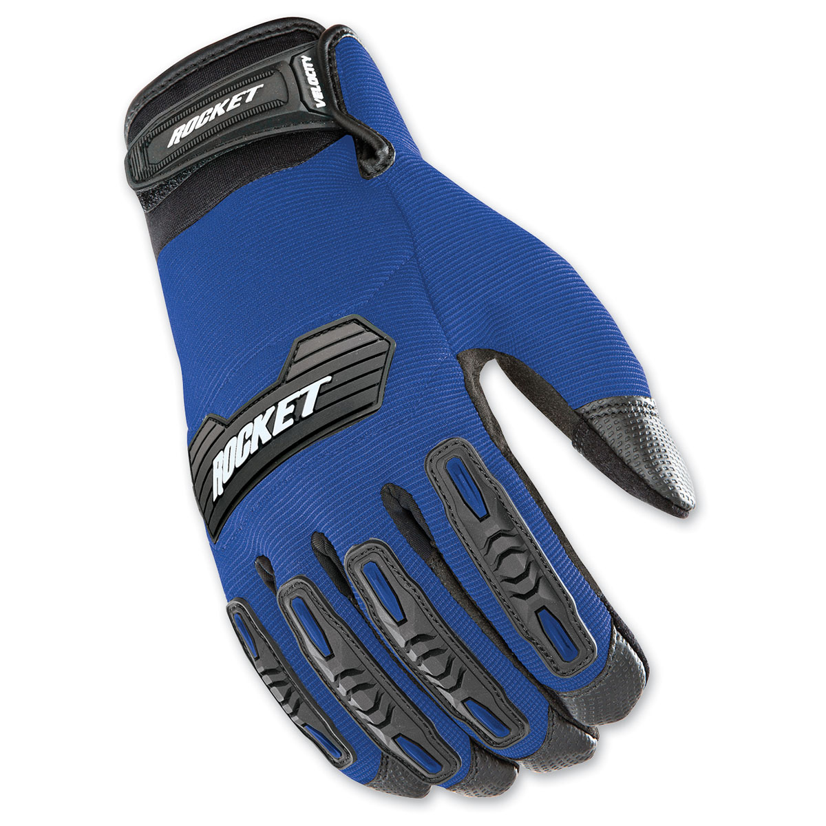 Joe Rocket Men's Velocity 2.0 Blue/Black Gloves