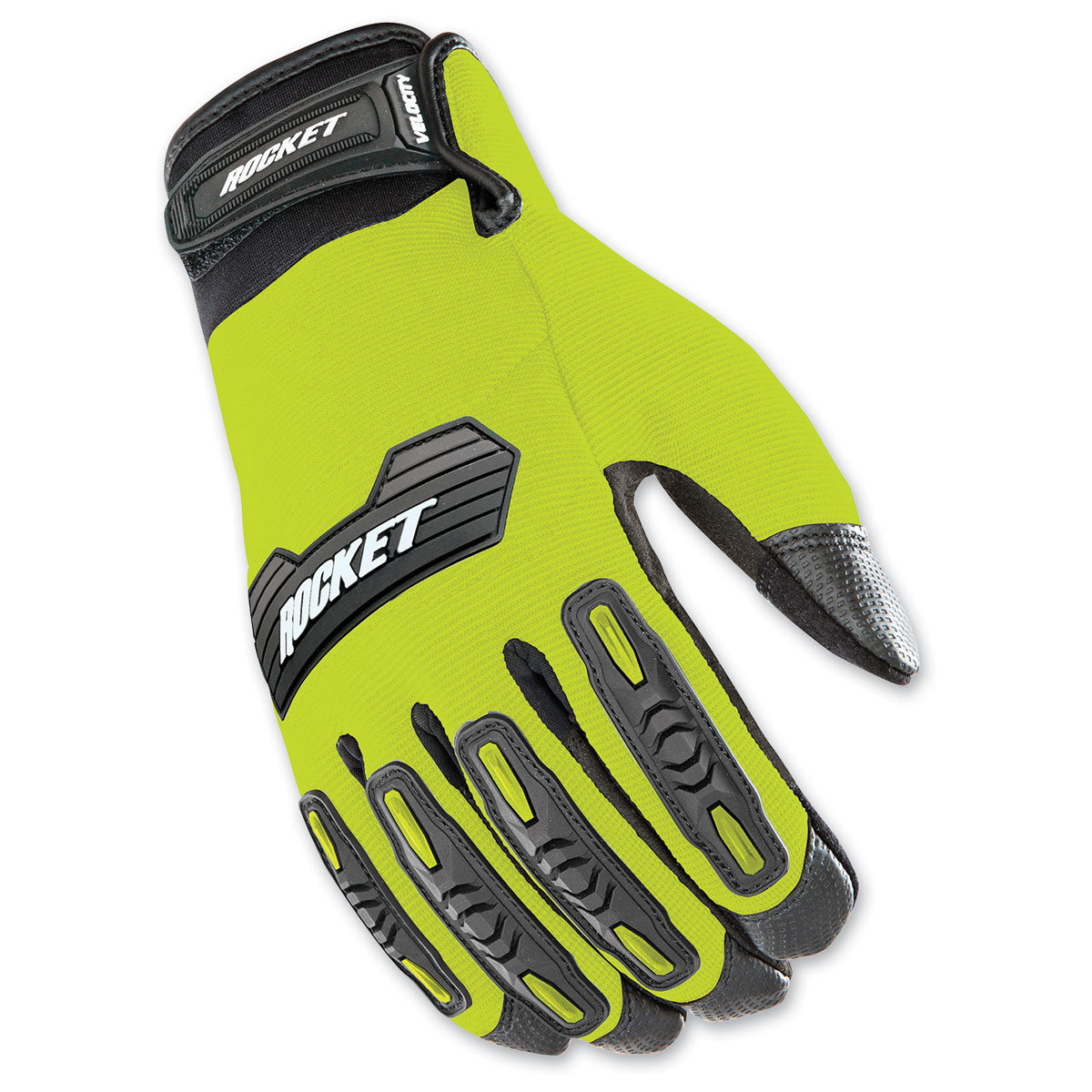Joe Rocket Men's Velocity 2.0 Hi-Viz/Black Gloves