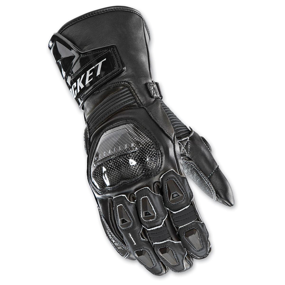 Joe Rocket Men's GPX Black Gloves