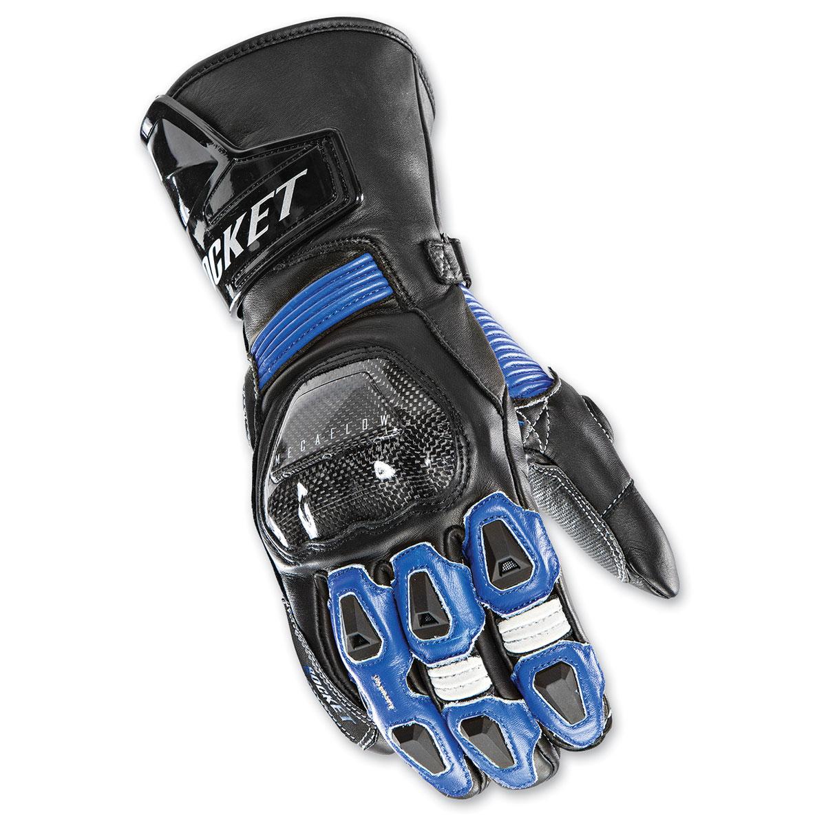 Joe Rocket Men's GPX Black/Blue Gloves