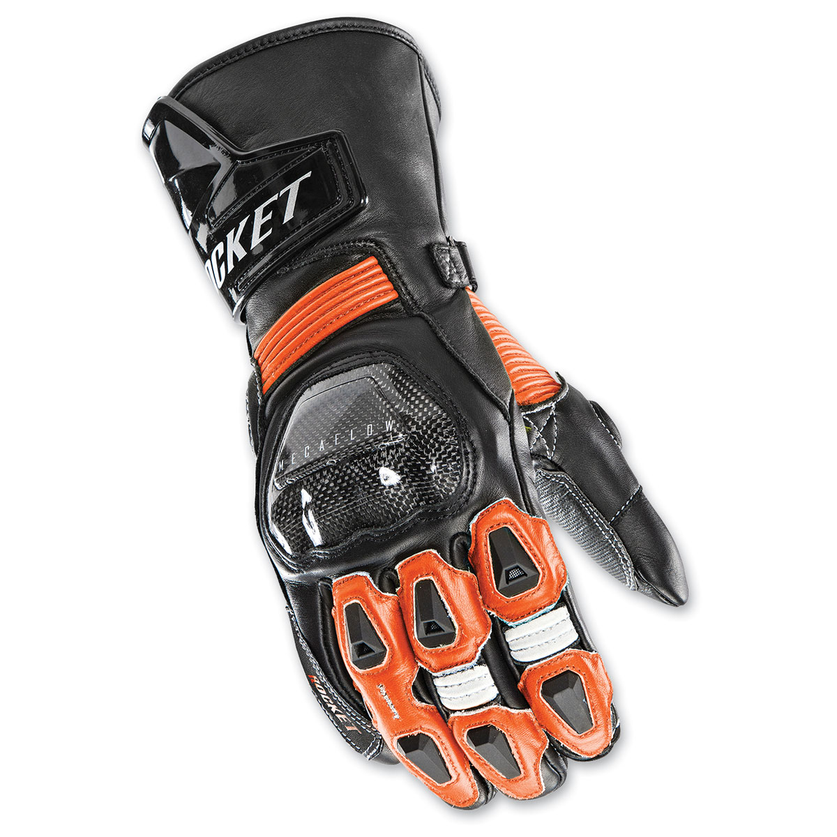 Joe Rocket Men's GPX Black/Orange Gloves