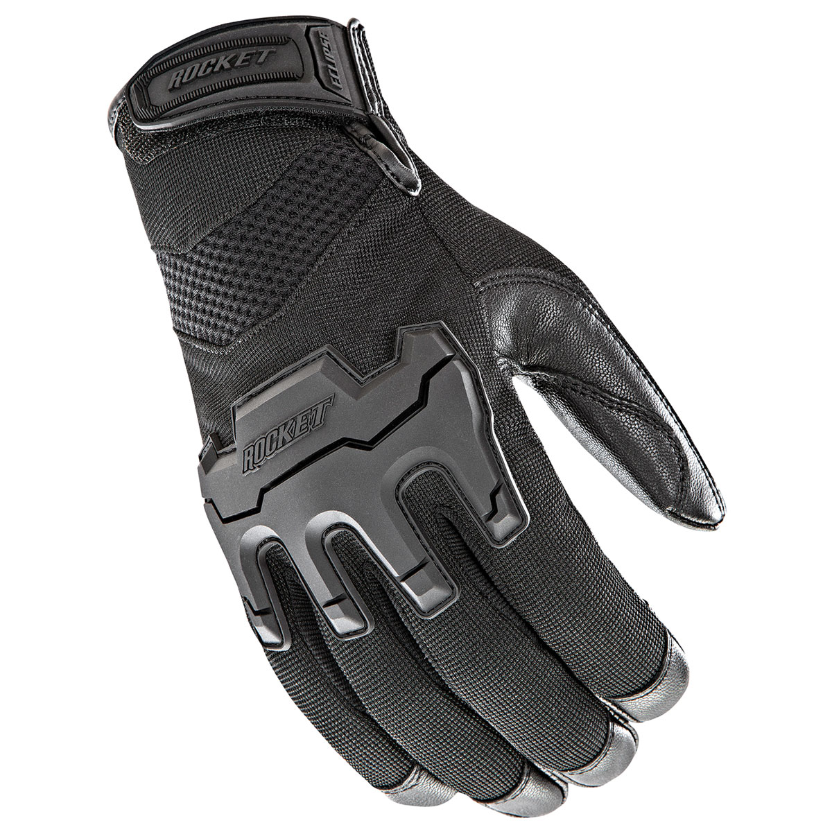 Joe Rocket Men's Eclipse Black Gloves
