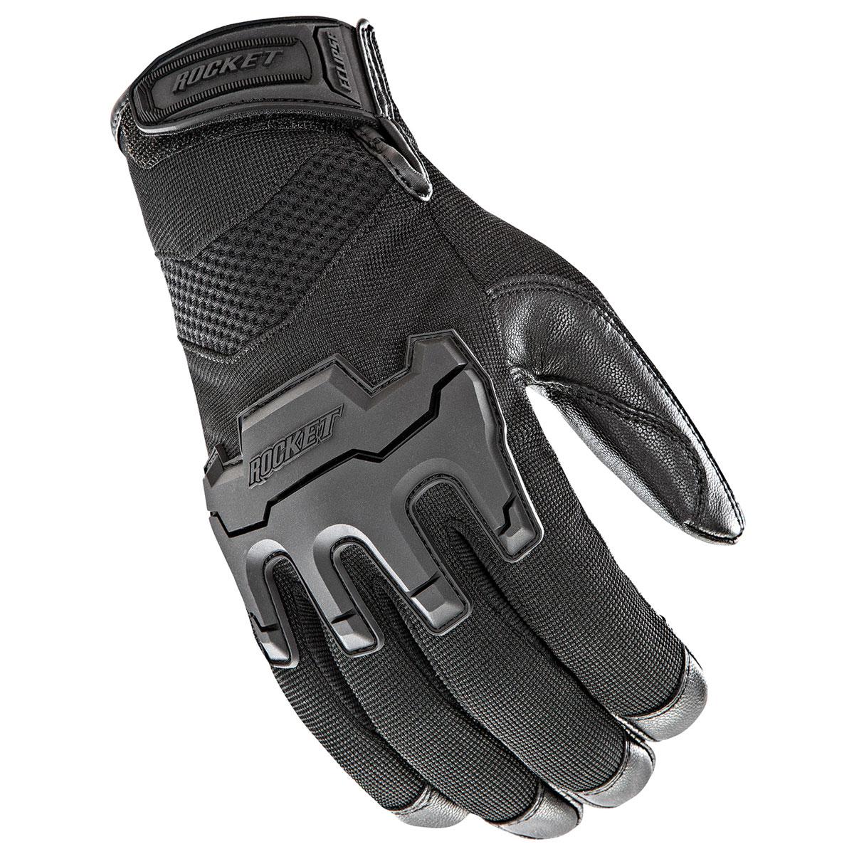 Joe Rocket Men's Eclipse Black Gloves