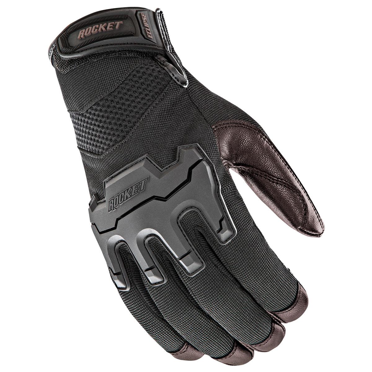 Joe Rocket Men's Eclipse Black/Brown Gloves