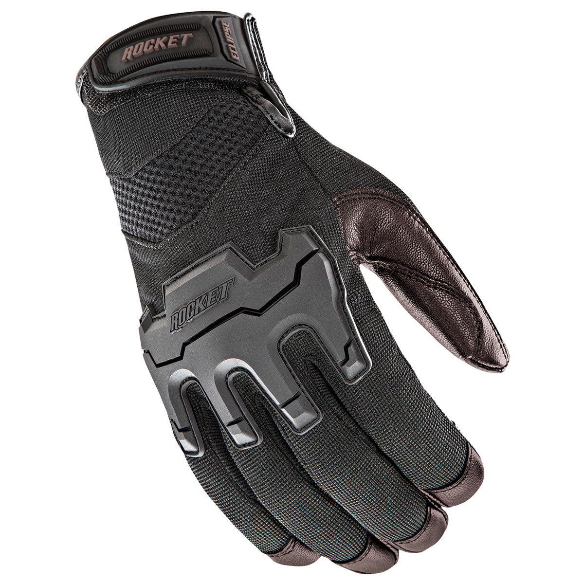 Joe Rocket Men's Eclipse Black/Brown Gloves