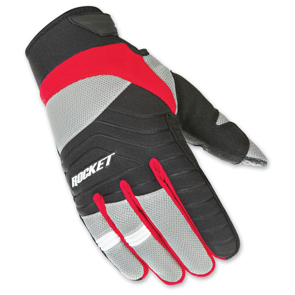 Joe Rocket Men's Big Bang 2.1 Red/Black Gloves