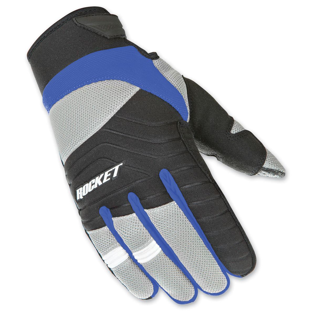 Joe Rocket Men's Big Bang 2.1 Blue/Black Gloves