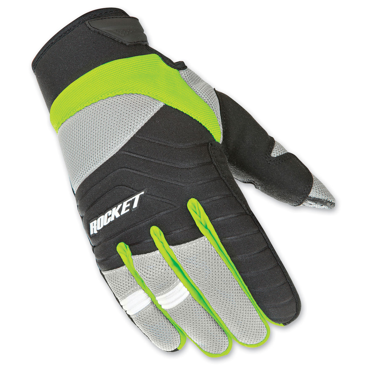 Joe Rocket Men's Big Bang 2.1 Hi-Viz/Black Gloves