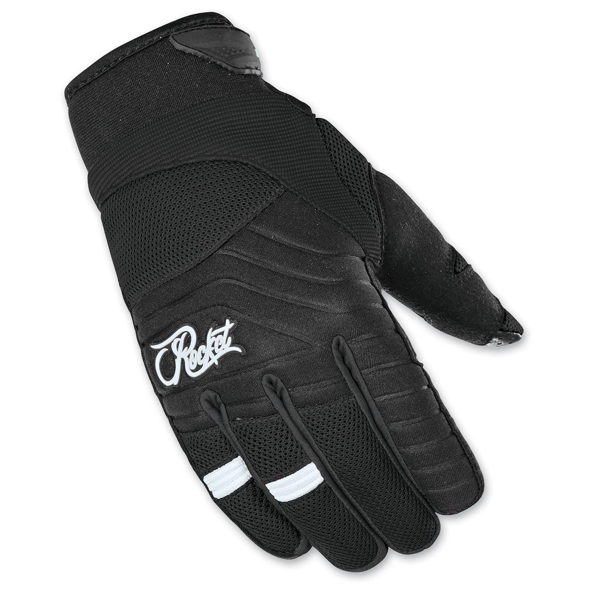 Joe Rocket Women's Big Bang 2.1 Black Gloves