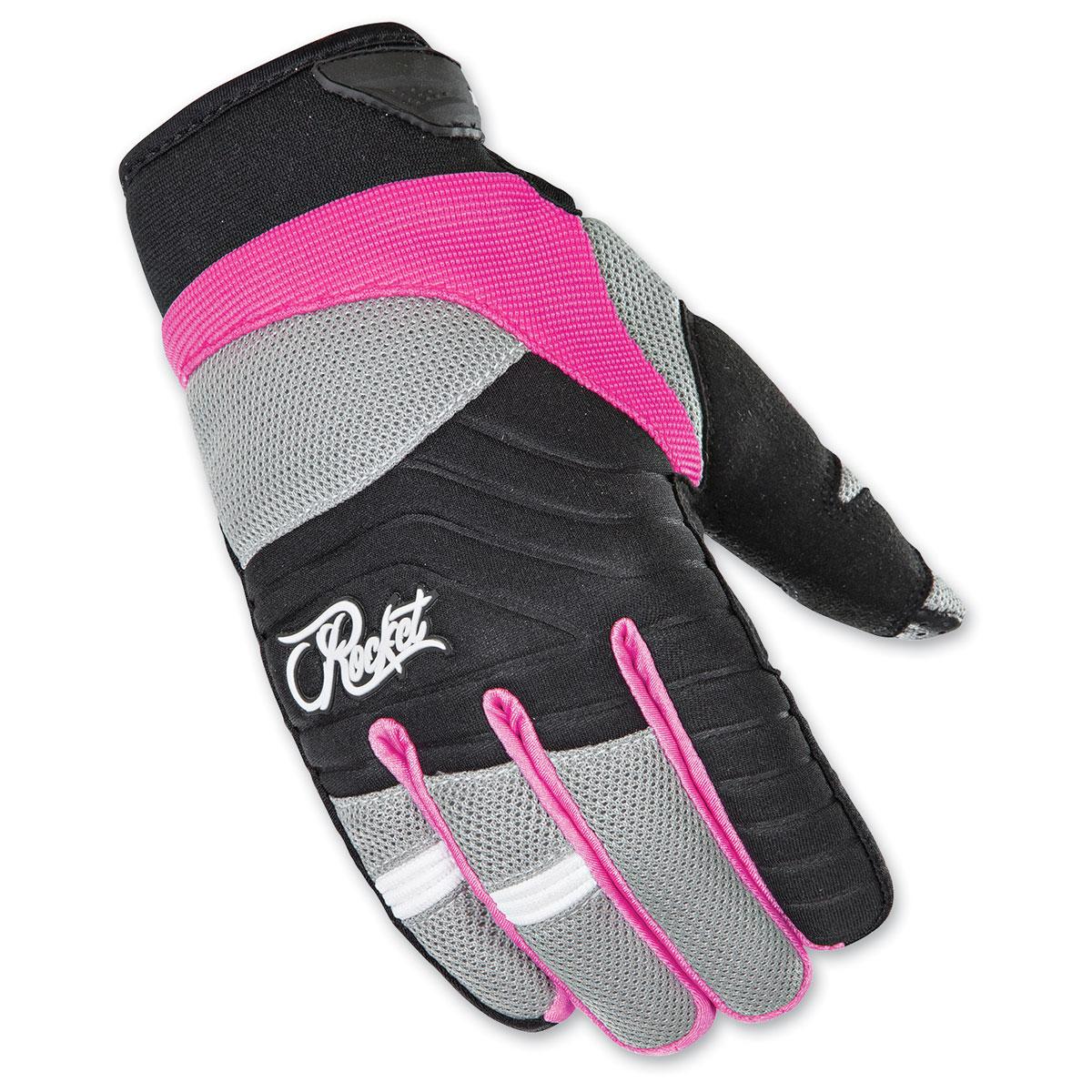 Joe Rocket Women's Big Bang 2.1 Pink/Black Gloves