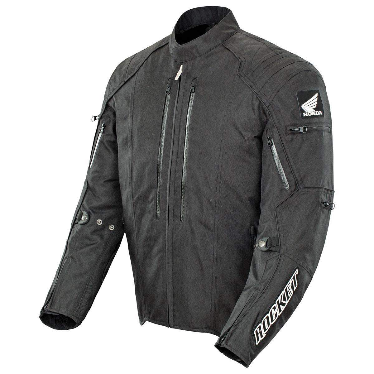 Joe Rocket Men's Black Honda CBR Textile Jacket