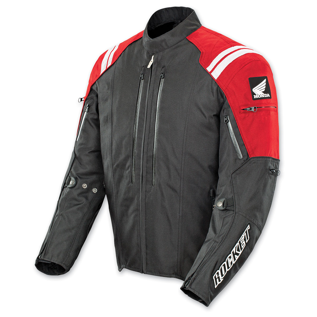 Joe Rocket Men's Red/Black Honda CBR Textile Jacket