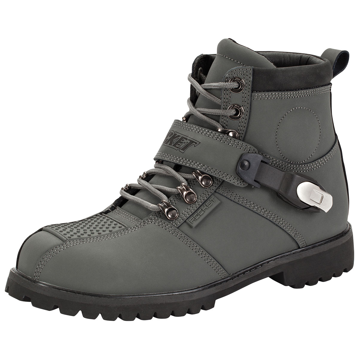 Joe Rocket Men's Big Bang 2.0 Gray Boots