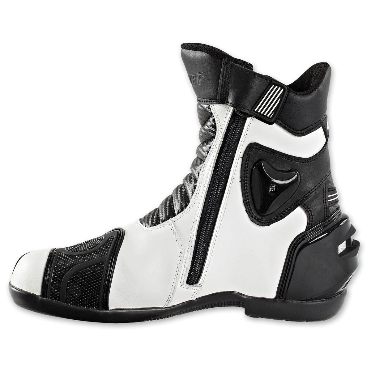 Joe Rocket Men's Super Street White Boots
