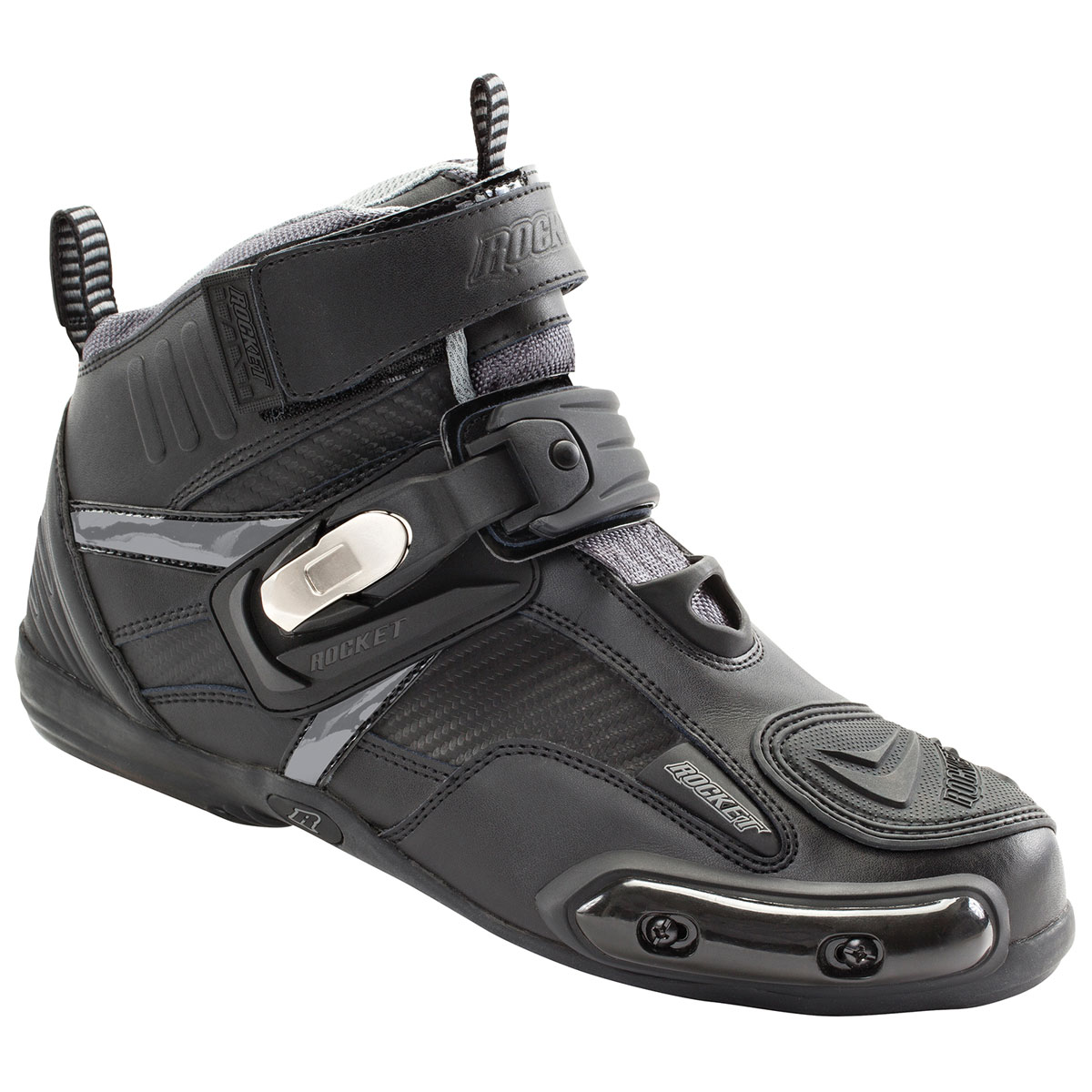 Joe Rocket Men's Atomic Black/Gray Boots